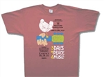 3XL Woodstock orginal poster shirt