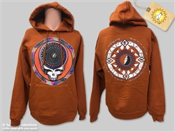 Grateful Dead Hoodie Steal Your Feathers