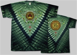 Celtic Knot  Steal Your Face Grateful Dead tie dye t-shirt by AllCollegeStuff.com