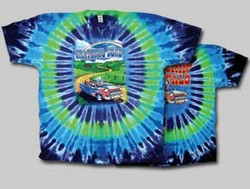 Truckin' to Buffalo Grateful Dead tie dye t-shirt