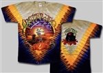 Fall Tour Grateful Dead Harvester tie dye t-shirt