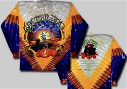 Grateful Dead Harvester Fall Tour long sleeve tie dye