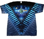 Pink Floyd 40 years dark side tie dye shirt
