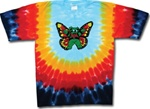Kids Grateful Dead Butterfly Bear shirt, Children's Dancing Bears tie dye t-shirt, Kids Grateful Dead Tie Dye shirt, small Grateful Dead tie dye, child size grateful dead shirt, child size Dead shirt