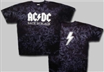 Kids Classic Back in Black AC/DC t-shirt