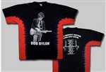 Bob Dylan Money Tour tie dye shirt