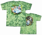 Tea Party tie dye t-shirt
