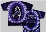 Jerry Garcia Franklin's Tower tie dye t-shirt
