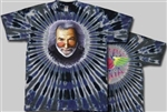 Jerry's Rose tie dye t-shirt, Jerry tie dye shirt, Jerry Garcia tie dye, The Grateful Dead Jerry Garcia shirt