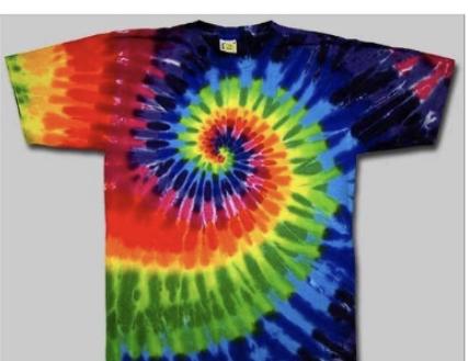 Sundog Rainbow Swirl Tie Dye Traditional Rainbow Tie Dye