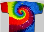 Adult tie dye t-shirt, awesome colorful tie dye t-shirt, hippie clothing