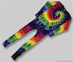 Rainbow swirl Union Suit or we like to call them one piece long john's