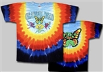 3XL Butterfly Bears Grateful Dead tie dye t-shirt