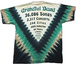 3XL Sacred Pool Grateful Dead tie dye t-shirt