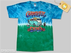 Grateful Dead VW Bus Dancing Bears tie dye t-shirt, Dancing Bears tie dye t-shirt, dancing bears t-shirt, Grateful Dead Dancing Bears tie dye shirt