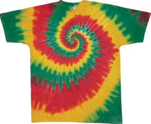 Kids Rasta Tie Dye T Shirt Twilight The Tie Dyes Are Not