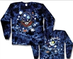 Grateful Dead Space your Face long sleeve tie dye, Classic Grateful Dead Steal Your Face long sleeve shirt
