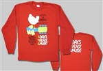 Long Sleeve Woodstock Poster shirt