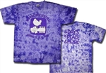 Woodstock Dove tie dye purple t-shirt, 1969 t-shirt, Woodstock shirt, Woodstock NY t-shirt