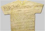 US Men's Constitution t-shirt, United States of America Constitution shirt
