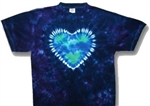 Mother Earth  Heart tie dye t-shirt