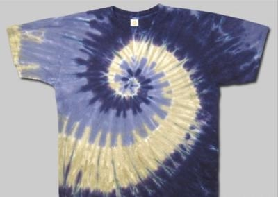 21e4efe1dbdf5 Purple swirl tie dye t-shirt