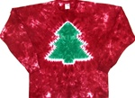 Christmas Tree tie dye t-shirt, Christmas tree tie dye, xmas tree tie dye shirt, Christmas tie dye shirt, family pj's, christmas family pj's